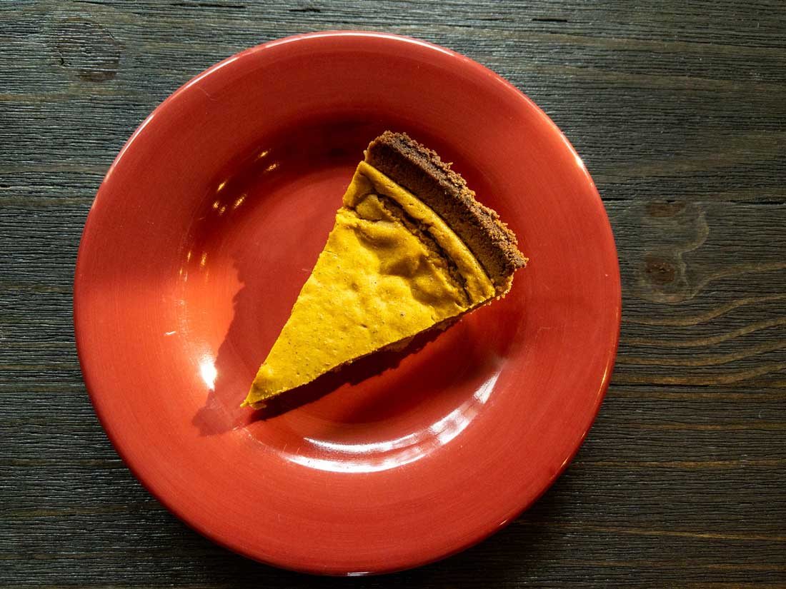 Vegan Pumpkin Pie Picture
